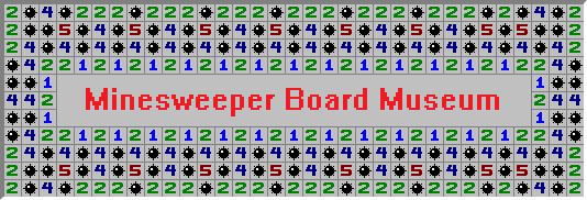 Minesweeper Board Museum